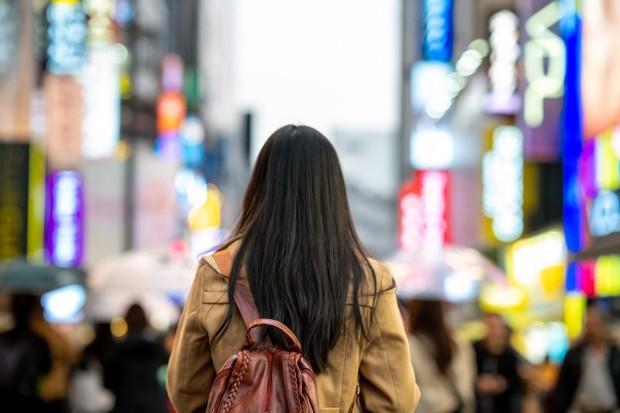 Orang Korea lebih sering memilih berjalan kaki.