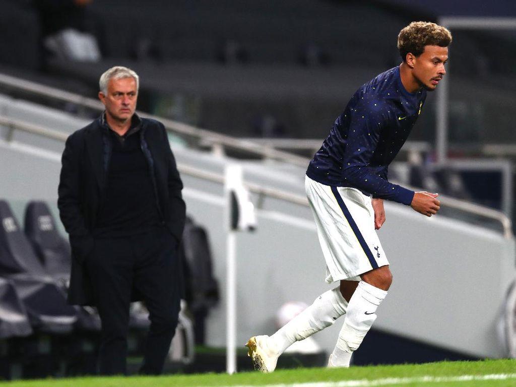 Mourinho, Dele Alli Ngambek, Ya?
