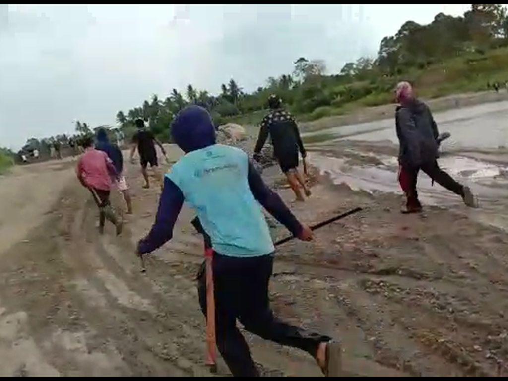 Gegara Tambang Pasir, Dua Kelompok Warga di Sidrap Nyaris Bentrok