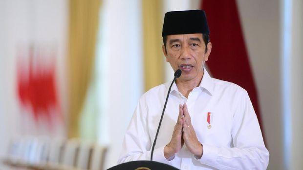 Presiden Jokowi membuka acara FKUB, Selasa (3/11) / Foto: Muchlis - Biro Pers