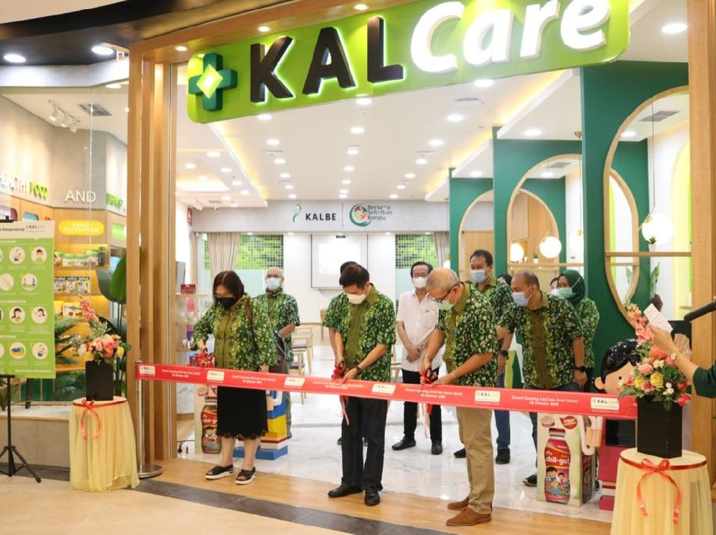 Kalbe Buka Outlet Nutrisi dan Kesehatan Pertama di Bogor