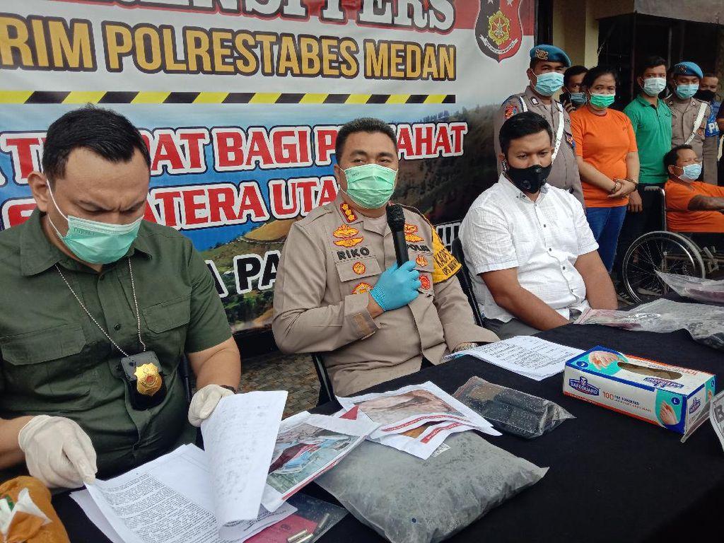Kasus Polisi Ditembak di Medan, Kapolres: Pelaku Berniat Tembak Kepala Korban