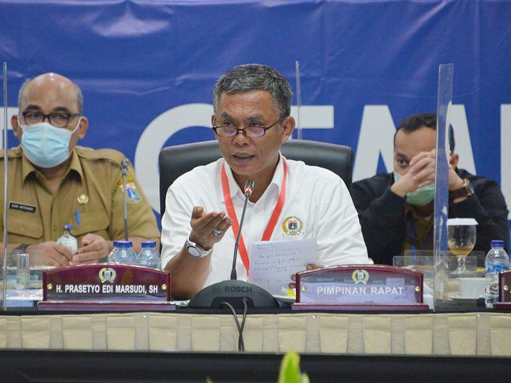 Ketua DPRD Prasetyo Sentil Satgas COVID-19 DKI soal Kerumunan Tanah Abang