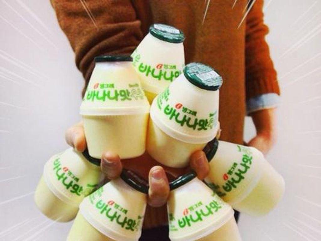 Susu Pisang Korea Populer Sejak 1974, Berawal dari Masalah Gizi