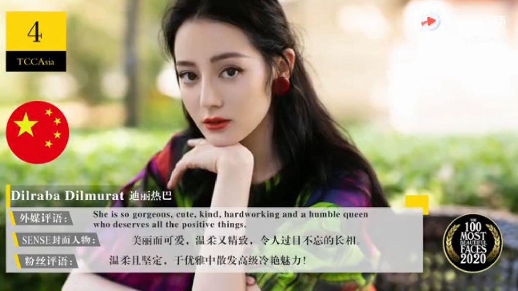 10 Wanita Asia Tercantik Versi TCC, Lisa Blackpink Hingga Dilraba Dilmurat