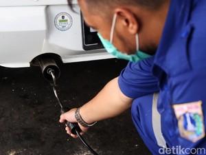 Kendaraan Non Plat B Jakarta Bisa Ikutan Uji Emisi Gratis Besok, Ini Jadwal dan Lokasinya