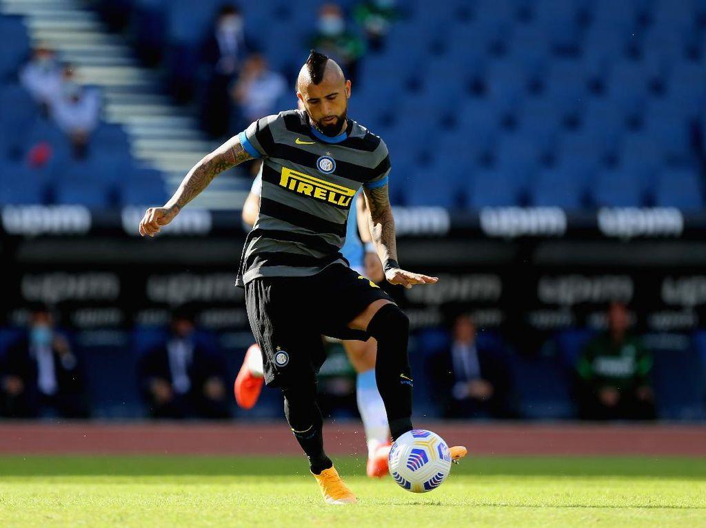 Madrid Vs Inter: Bisa Bobol Gawang El Real Lagi, Vidal?