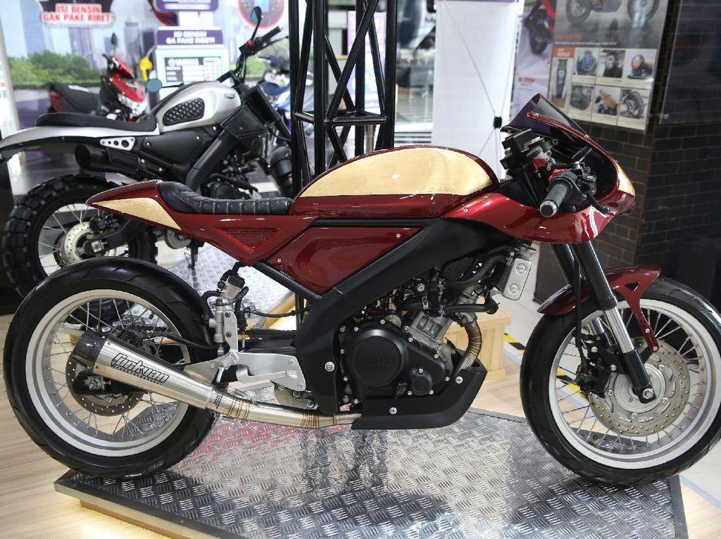 Inspirasi Modifikasi Motor: Yamaha XSR 155 Bergaya Balap Jaman Dulu