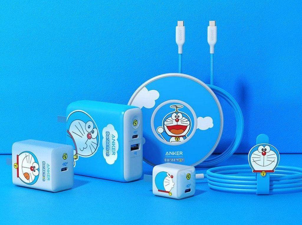 Imut! Anker Rilis Aksesoris Charging iPhone 12 Buat Fans Doraemon
