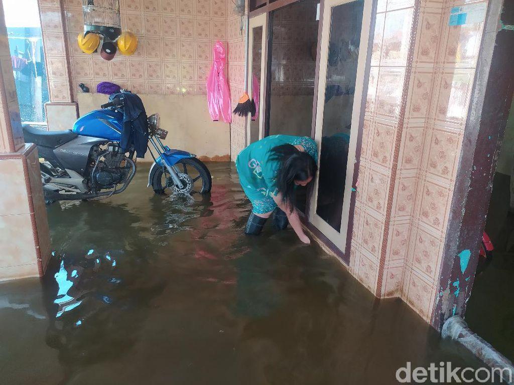 2 Desa Langganan Banjir di Sidoarjo Masih Digenangi Air Setinggi Lutut