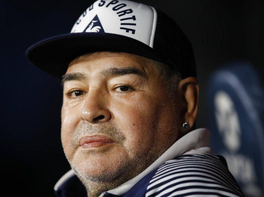Hore! Operasi Otak Maradona Sukses
