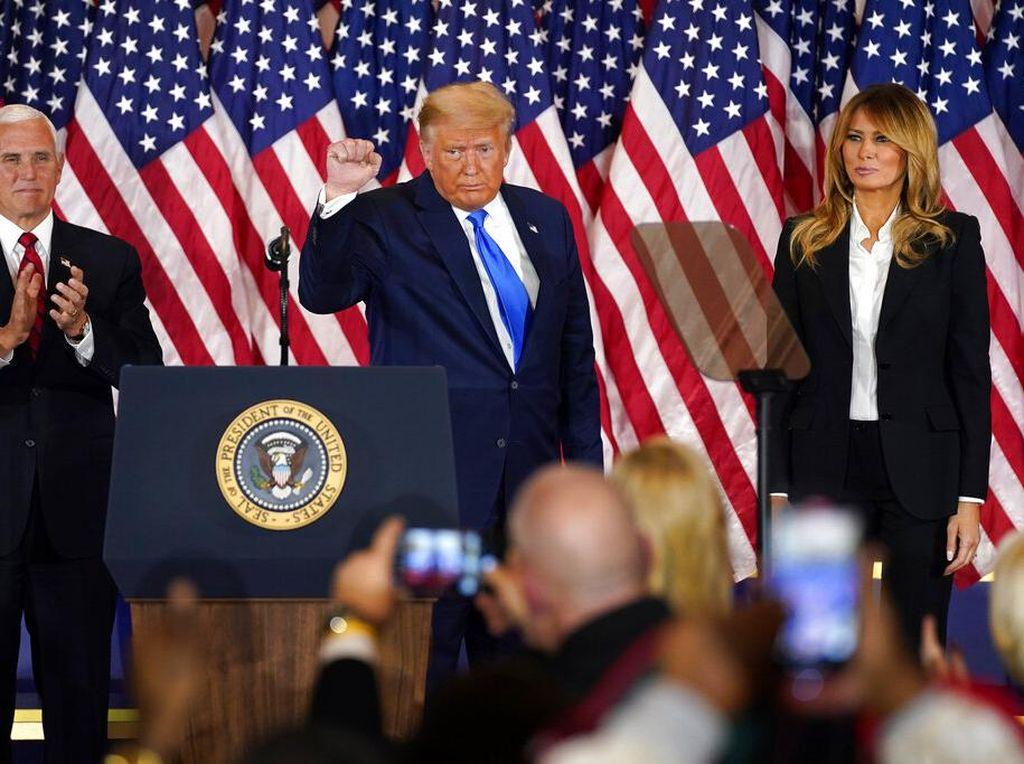 Raih 50 Persen Suara, Trump Sementara Unggul di North Carolina