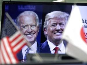 Sengit! Trump dan Biden Hanya Selisih 665 Suara di Georgia