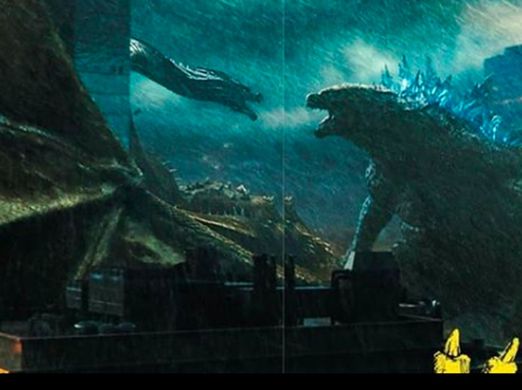 Godzilla : King Of The Monsters, Pertarungan Para Makhluk Titan