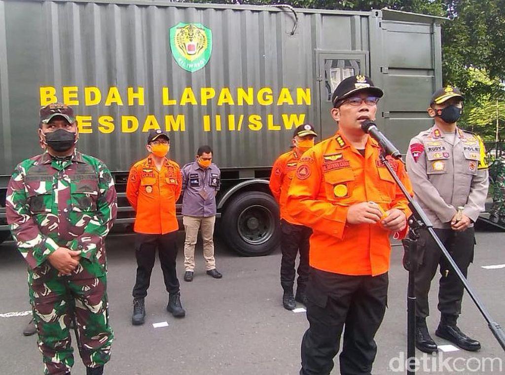 Ridwan Kamil Tetapkan Jabar Siaga Satu Bencana
