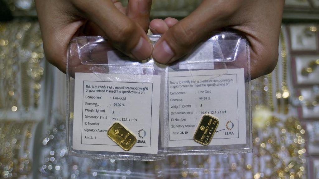 Harga Emas Antam Tembus Rp 1.004.000/Gram
