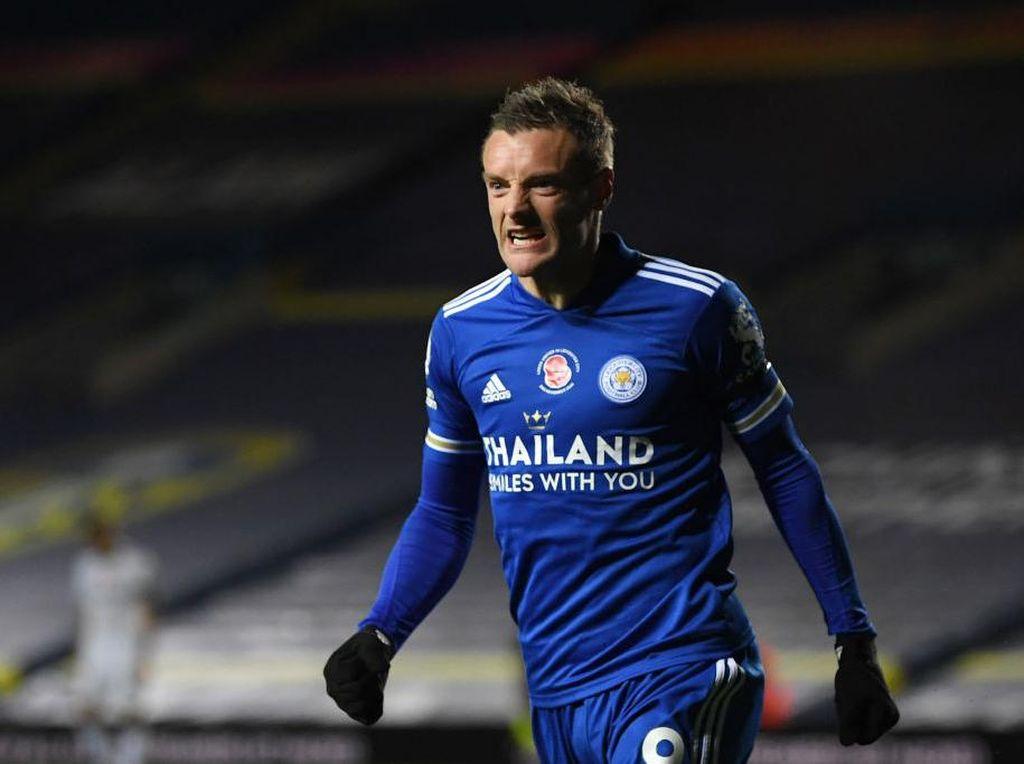 Berbahayanya Jamie Vardy di Mata Mourinho