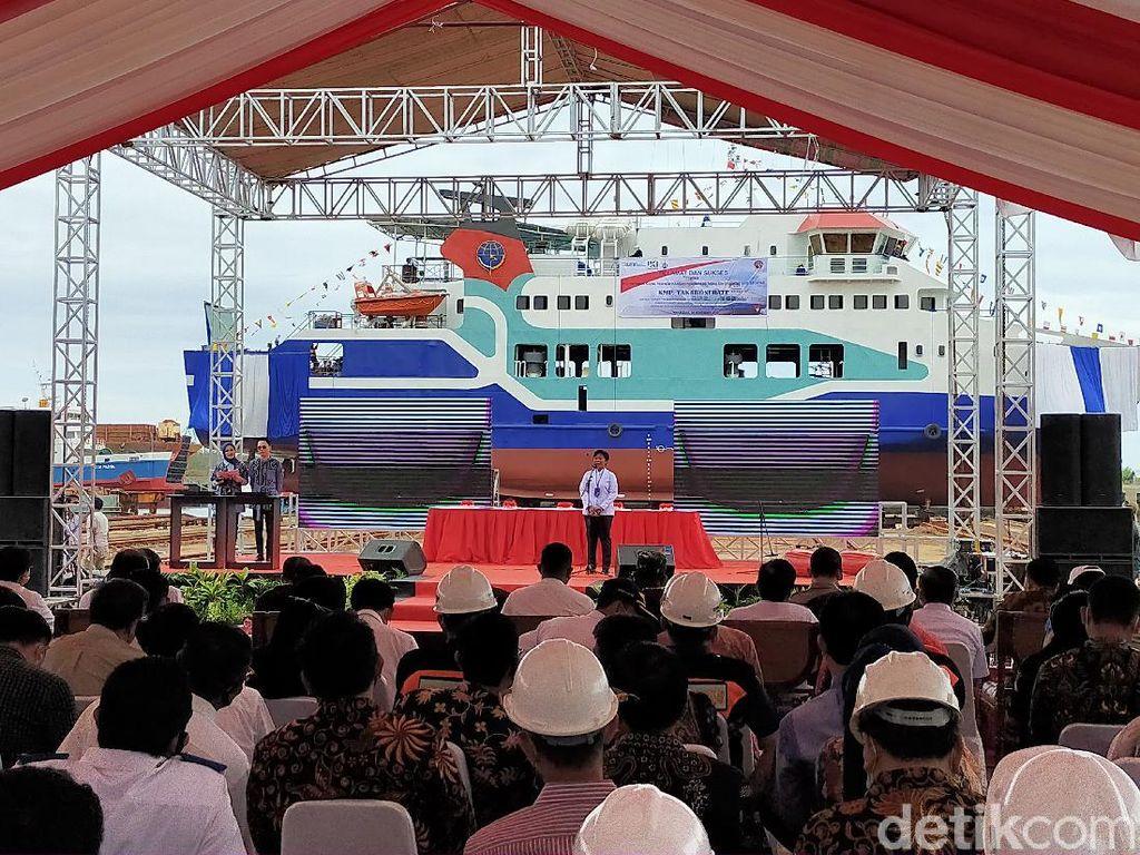 KPM Takabonerate Resmi Berlayar untuk Perlancar Transportasi Selayar-Bira