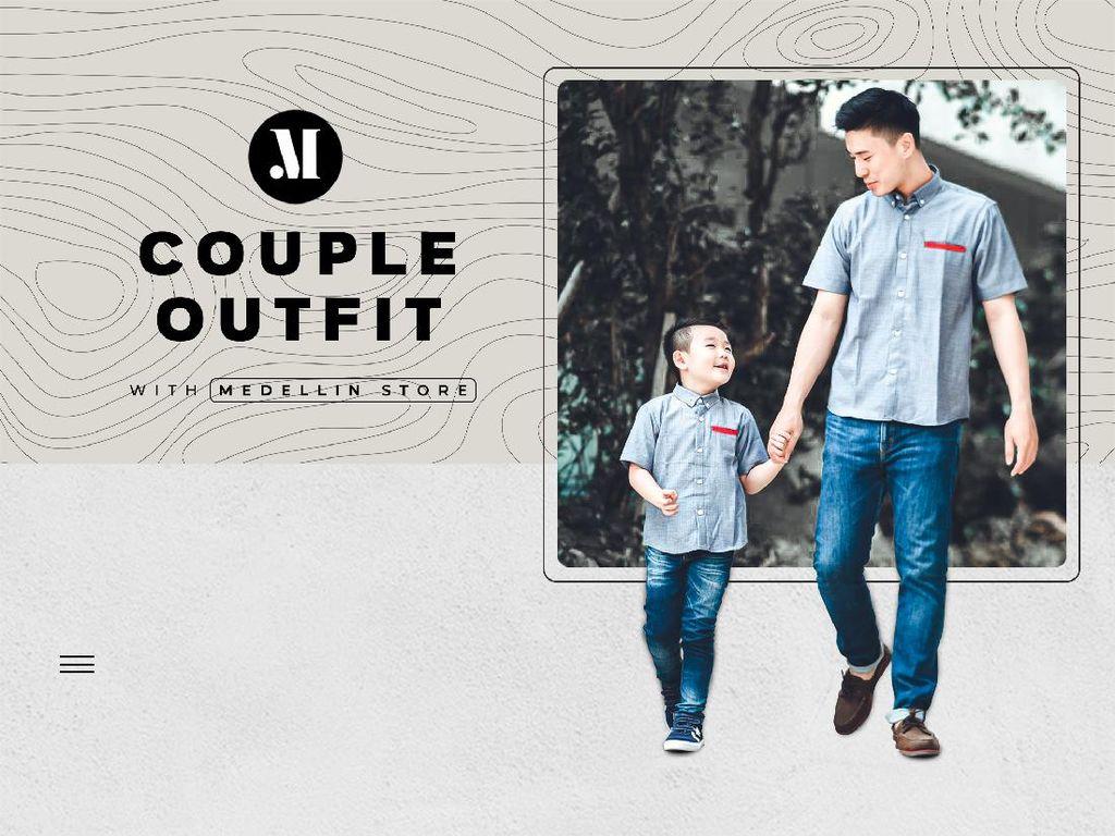 Baju Couple Bikin Orang Tua & Anak Tambah Kompak