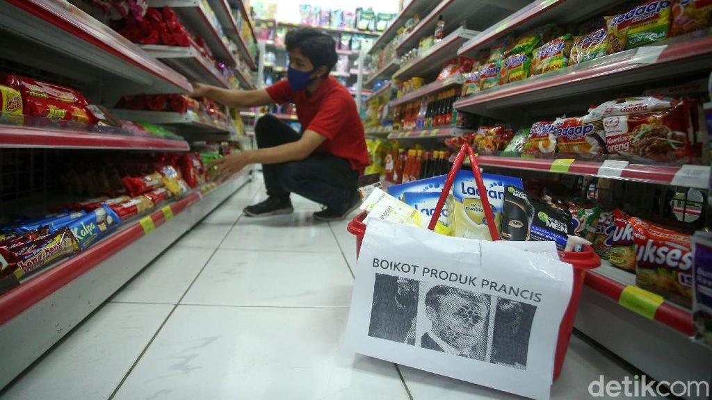 Minimarket di Jakarta Ini Mulai Boikot Produk Prancis