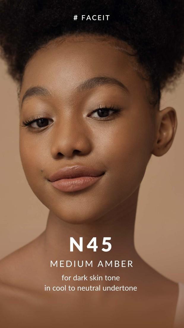 N45 - MEDIUM AMBER/BLP