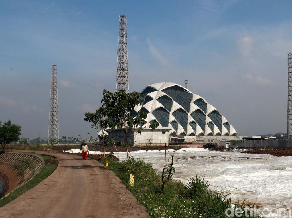 Progres Pembangunan Masjid Apung Al-Jabbar Bandung