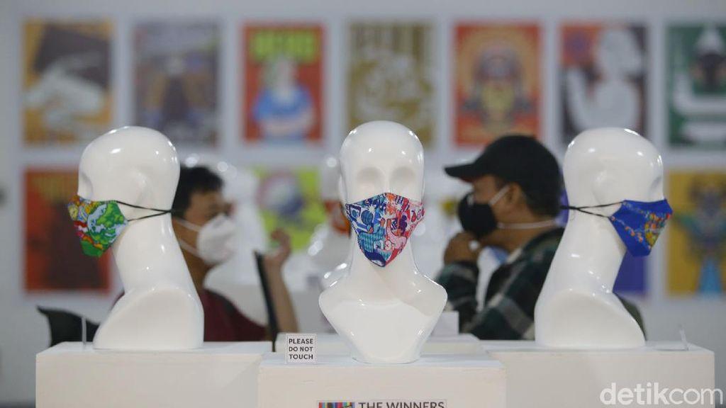 Ragam Desain Masker Internasional Dipamerkan