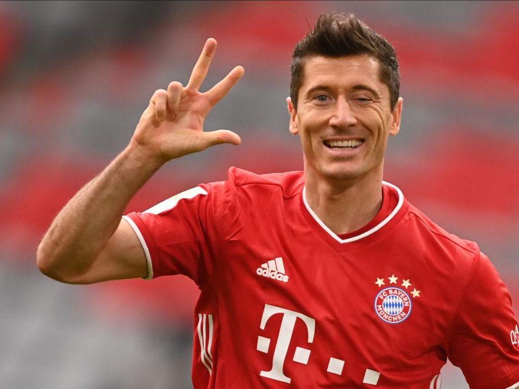 Robert Lewandowski Buru 12 Kemenangan Beruntun Lawan Werder Bremen