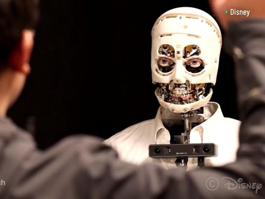 Disney Buat Robot dengan Tatapan Mata Seperti Manusia