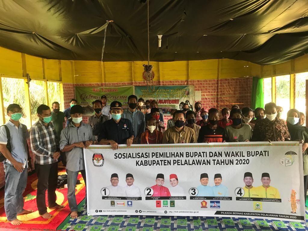 1.116 Warga Suku Akit Masyarakat Pedalaman Siap Ikuti Pilkada Pelalawan Riau