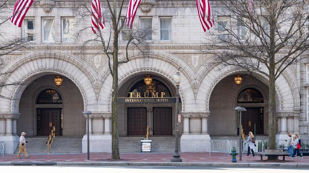 Trump International Hotel Washington DC, formerly known as the Old Post Office Building