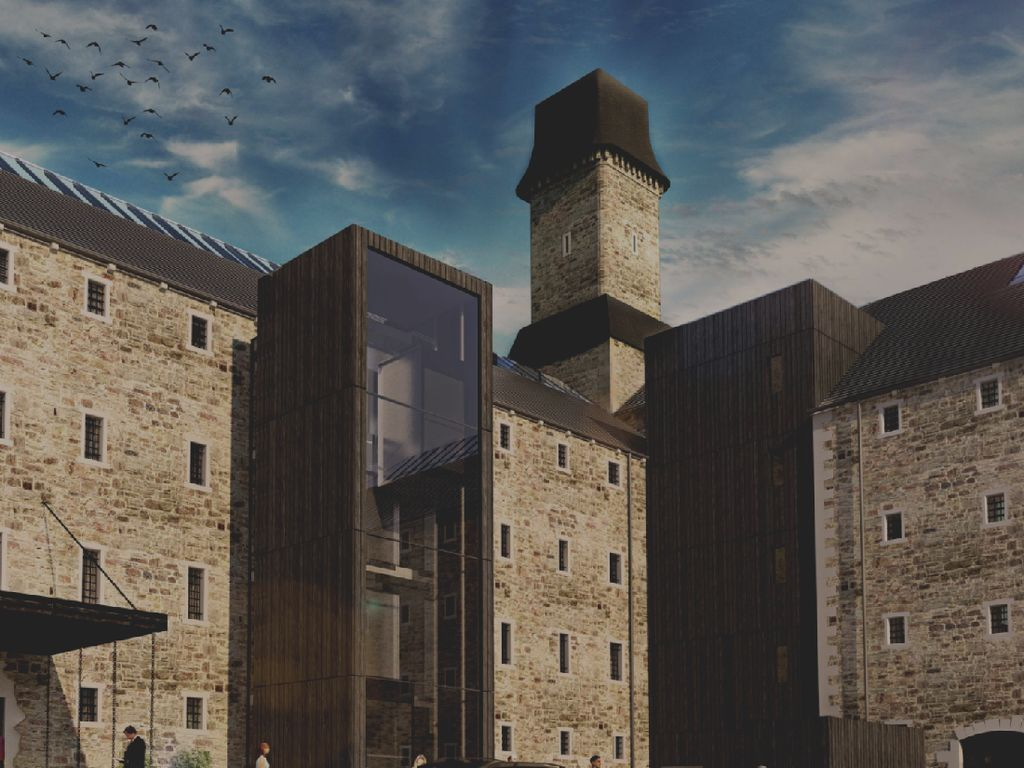 Foto: Bekas Penjara Tua yang Jadi Hotel Mewah
