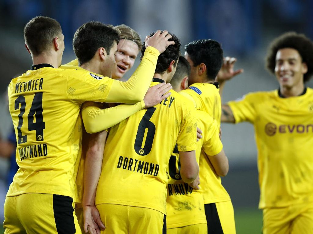 Club Brugge Vs Borussia Dortmund: Haaland dkk Menang 3 Gol Tanpa Balas