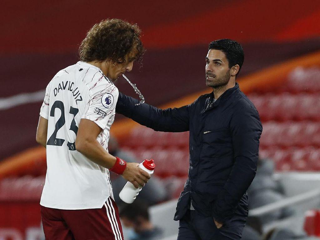 Drama di Arsenal: Arteta-David Luiz Diam-diaman?