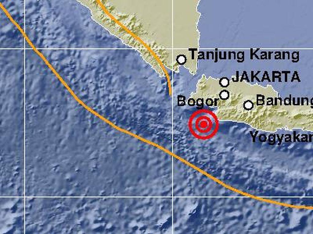 Gempa M 5,2 di Banten Dirasakan hingga Sukabumi, Ini Analisis BMKG
