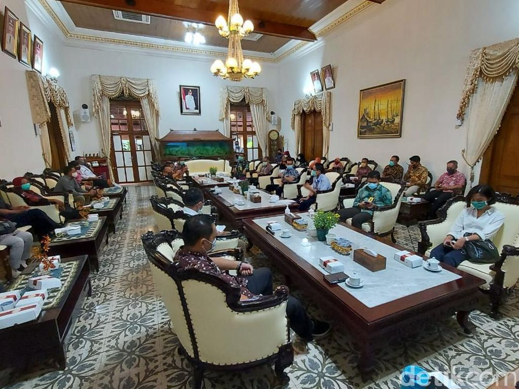 Pemkab Sidoarjo Bertemu KKP, Bahas Pengembangan Lumpur Lapindo