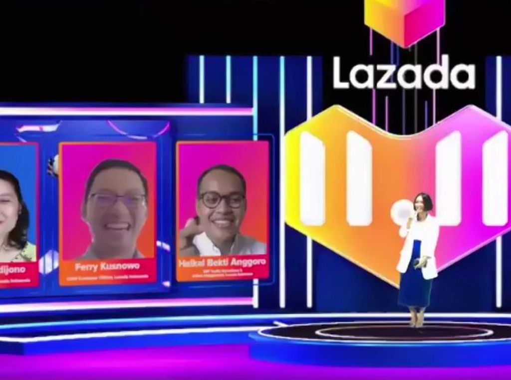 Lazada Tebar Voucher Jutaan Rupiah & Diskon 99% di Festival 11.11