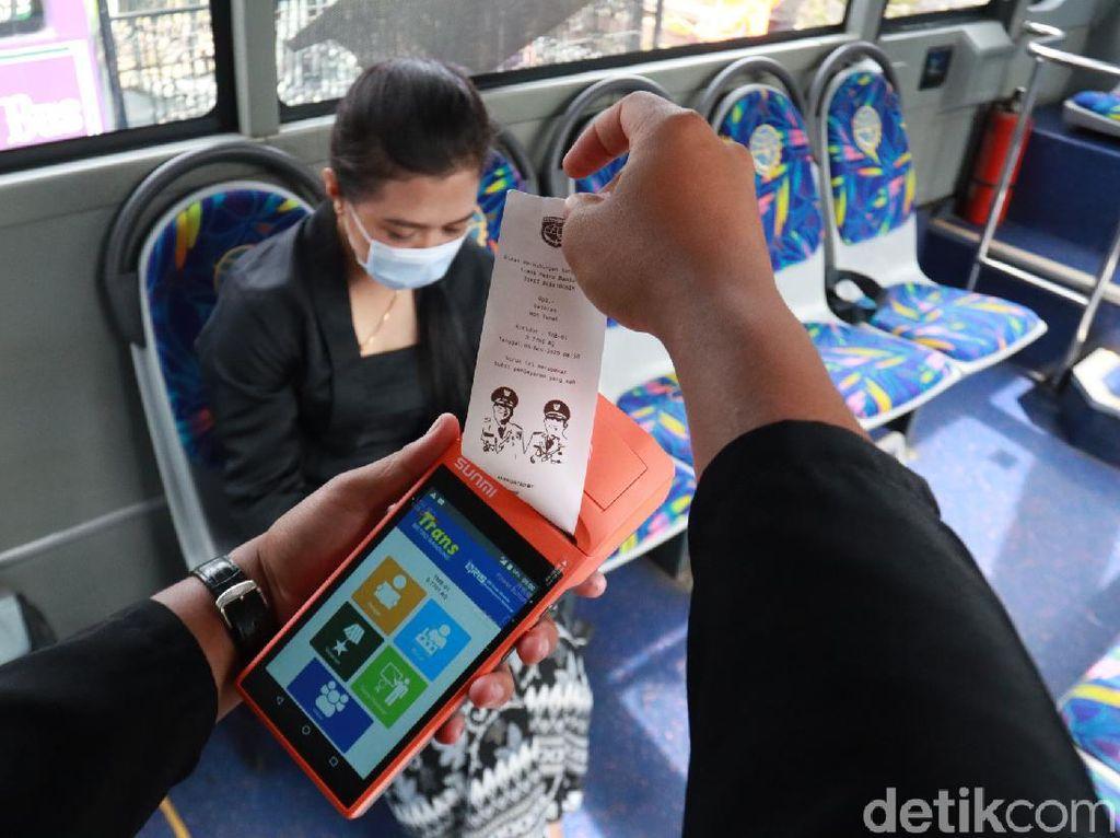 Naik TMB dan Bandros di Bandung Bisa Bayar Pakai Aplikasi