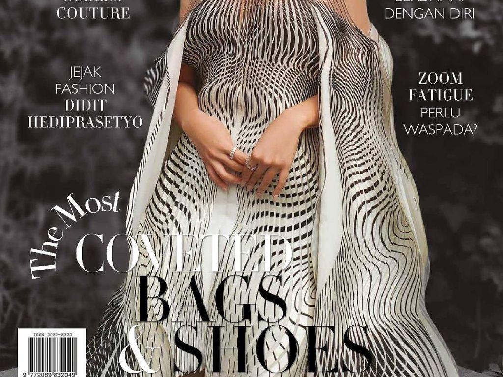 Photoshoot Niki Zefanya di Sampul Majalah Bazaar Andalkan OPPO Reno4