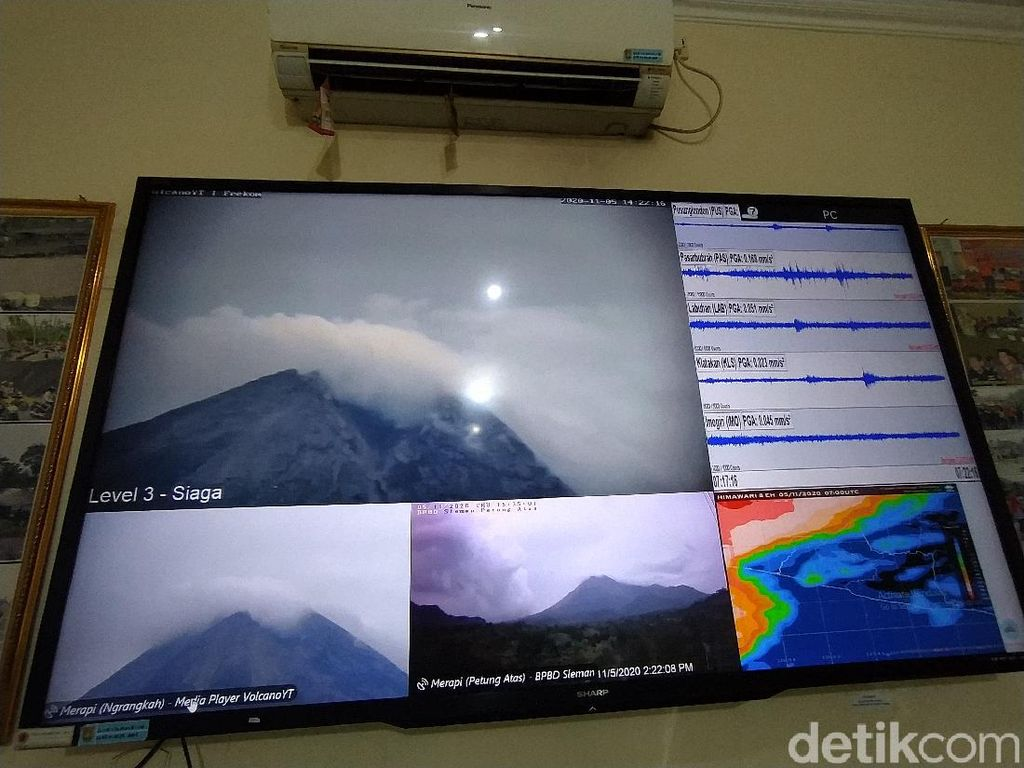 Gunung Merapi Kini Siaga, Pemkab Magelang Akan Mulai Evakuasi Warga