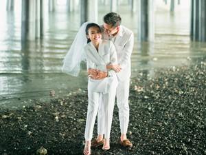 Cerita Pasangan Foto Prewedding di Kolong Jembatan Hasilnya ala Drakor