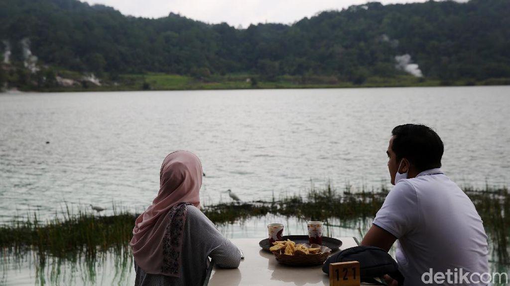 Pesona Danau Linow Sulawesi Utara