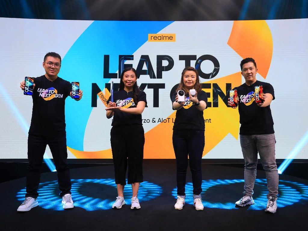 Realme Boyong Sikat Gigi hingga Smartwatch Murah ke Indonesia