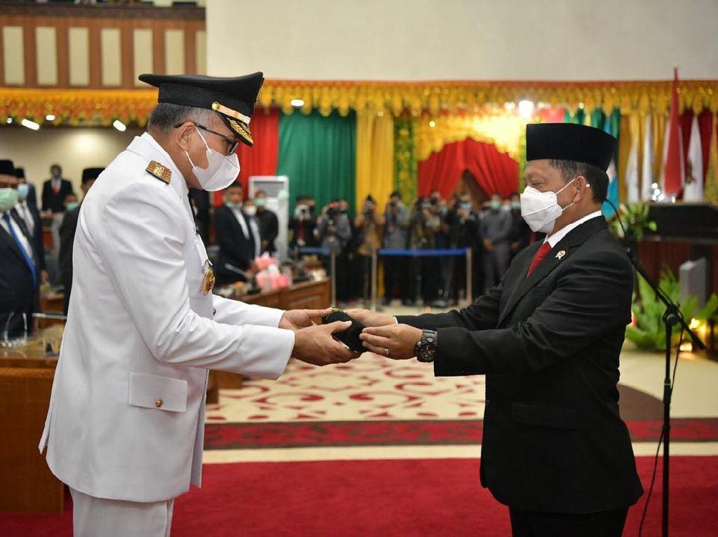 Dilantik, Gubernur Aceh Nova Iriansyah Masih Dihantui Hak Angket