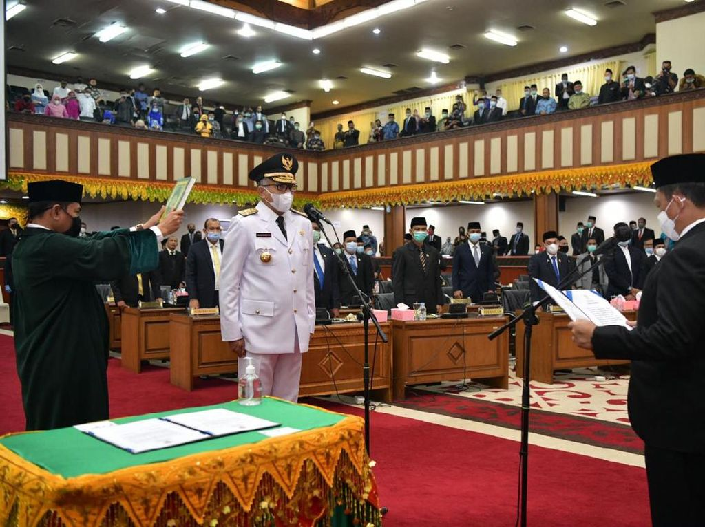 Jadi Gubernur Aceh, Nova Iriansyah Serahkan Cawagub ke Parpol Pengusung