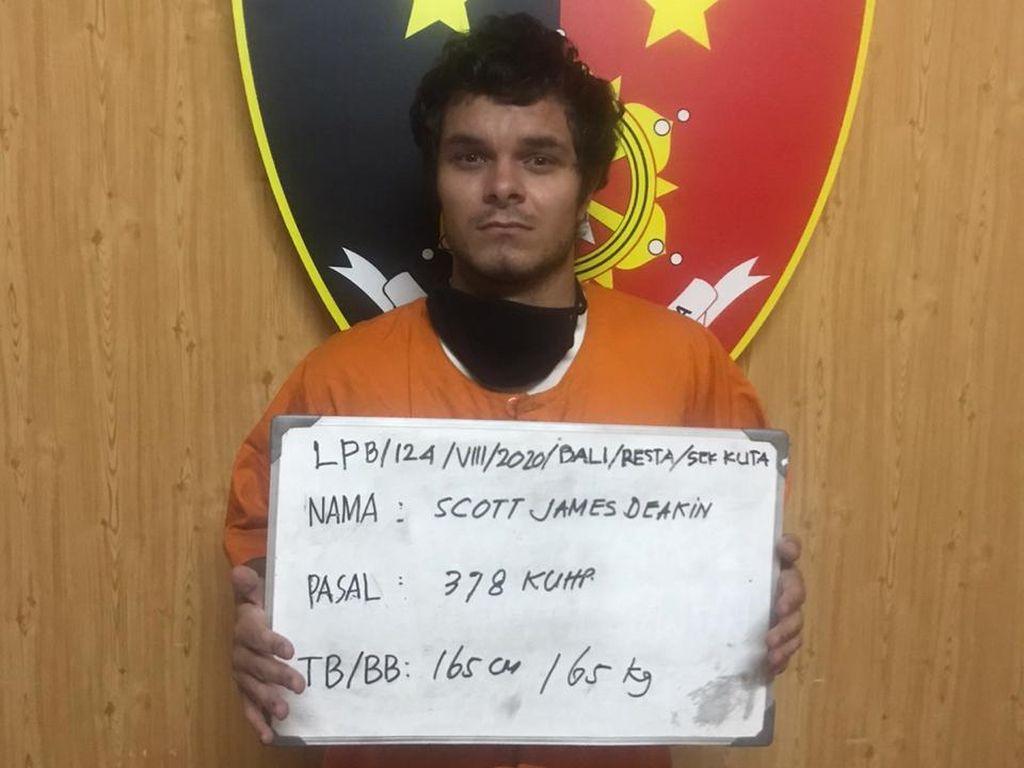 Tak Bayar Sewa Hotel di Kuta Bali Rp 3,7 Juta, WN Inggris Ditangkap