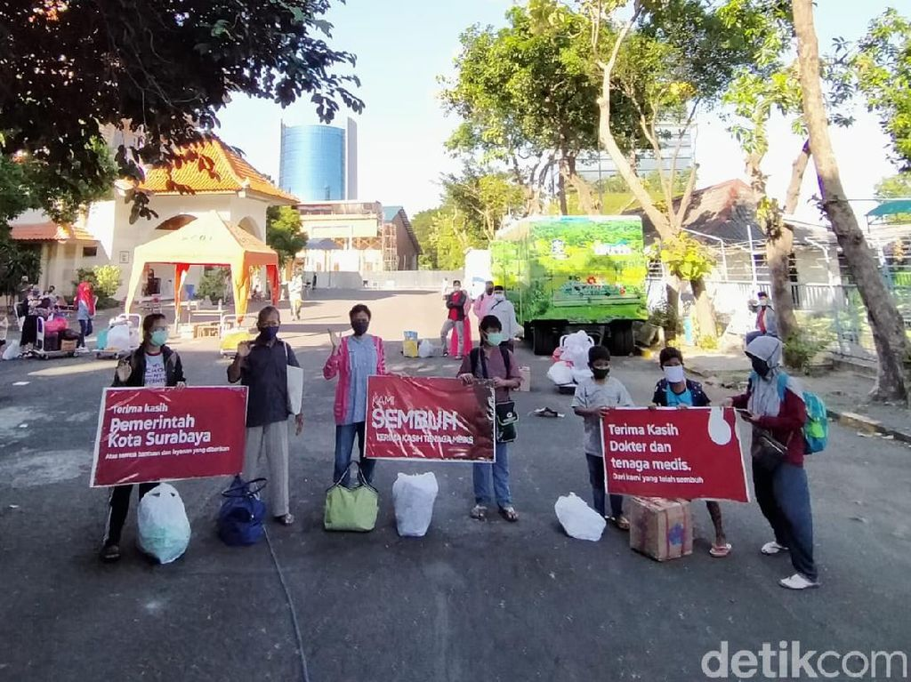 100 Kelurahan Nol Kasus, Bukti Keberhasilan Pemkot Surabaya Tangani COVID-19
