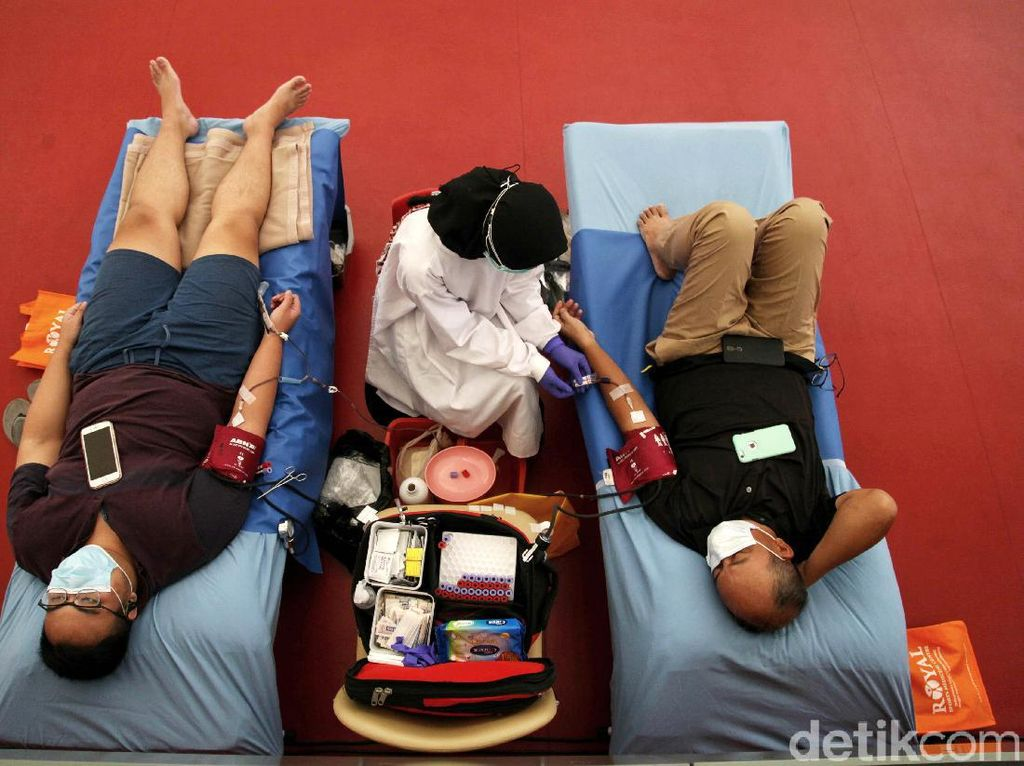 Selama Pandemi Corona, Indonesia Kekurangan Stok Darah 30-50%