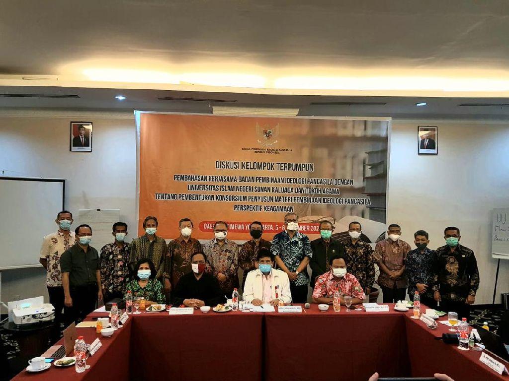 BPIP & Tokoh Lintas Agama Susun Buku Pembinaan Ideologi Pancasila