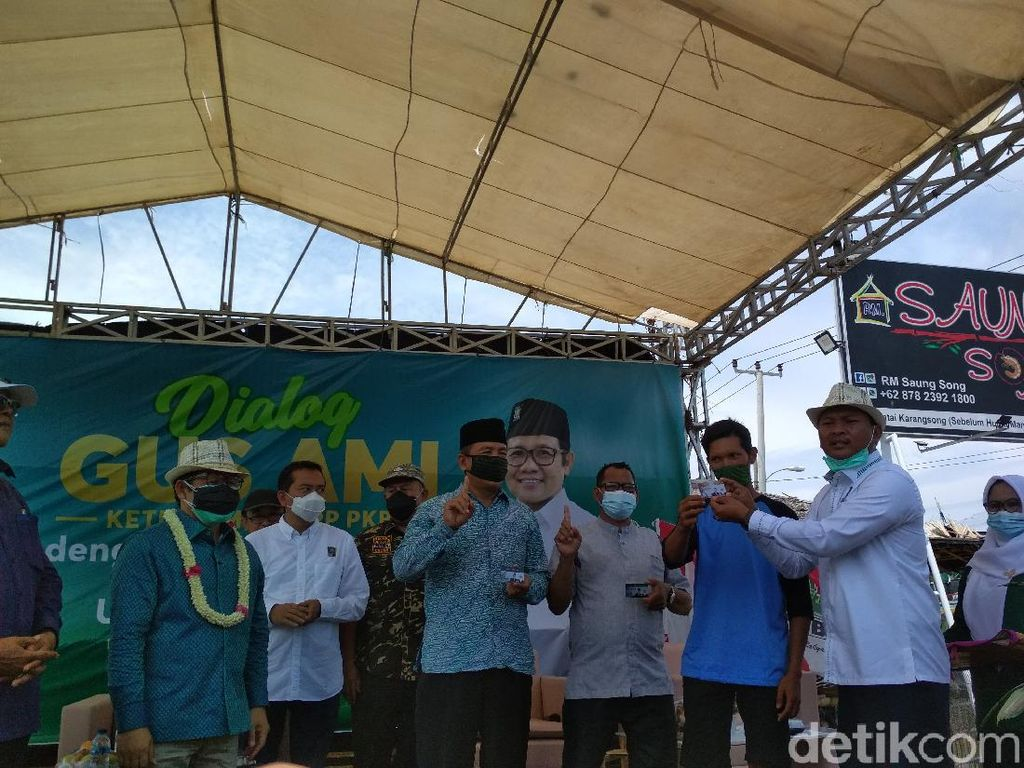 Pilkada Indramayu, Cak Imin Turun Gunung Kampanyekan Kartu Sakti PKB